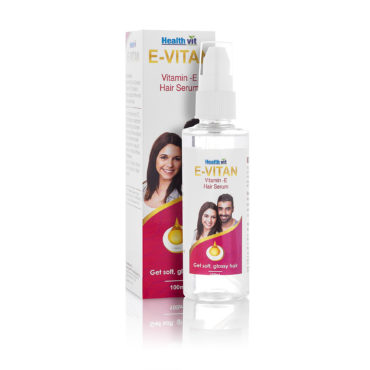 Healthvit E-Vitan Vitamin E Oil Hair Serum 100ml