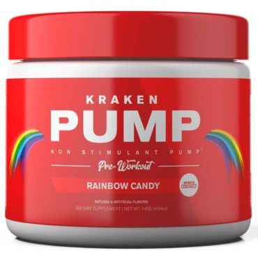 Sparta Nutrition Kraken PUMP 140G Rainbow Candy