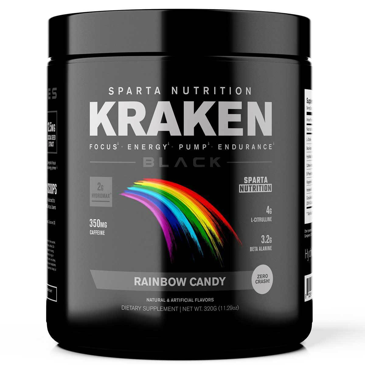 Sparta Nutrition kraken Black 320G ( Solid Form )