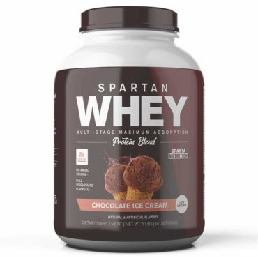 Spartan Nutrition Whey Protein Blend 5Lbs