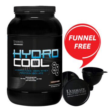 Ultimate-Nutrition-Hydrocool-Whey-Protein-Isolate-3Lb-FREE-UN-Funnel