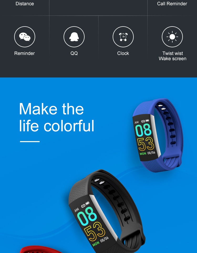 Health Band Watch FCB6A