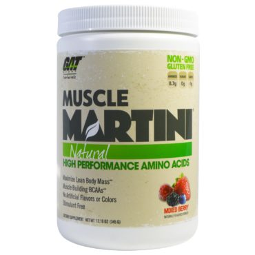GAT Muscle Martini Natural 30 Serving