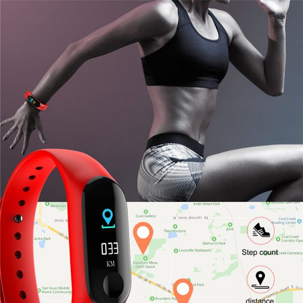 M3 Smart Fitness Band Activity Tracker