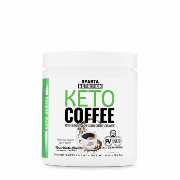 Sparta Nutrition KETO Coffee 30 serving Caramel Macchiato