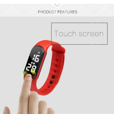 Touch screen fitness smart band Activity Tracker
