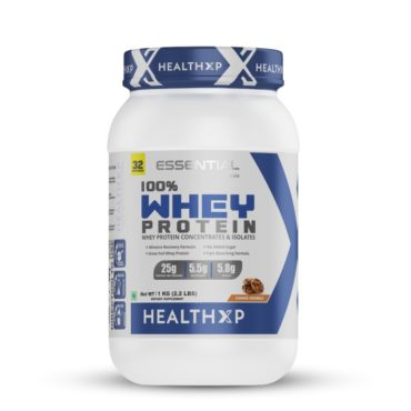 HealthXP-Essential-Series-100-Whey-Protein-1-Kg-Cookie-Crumble