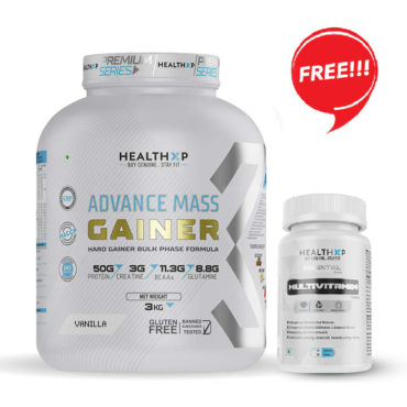 Healthxp advance mass gainer 3kg
