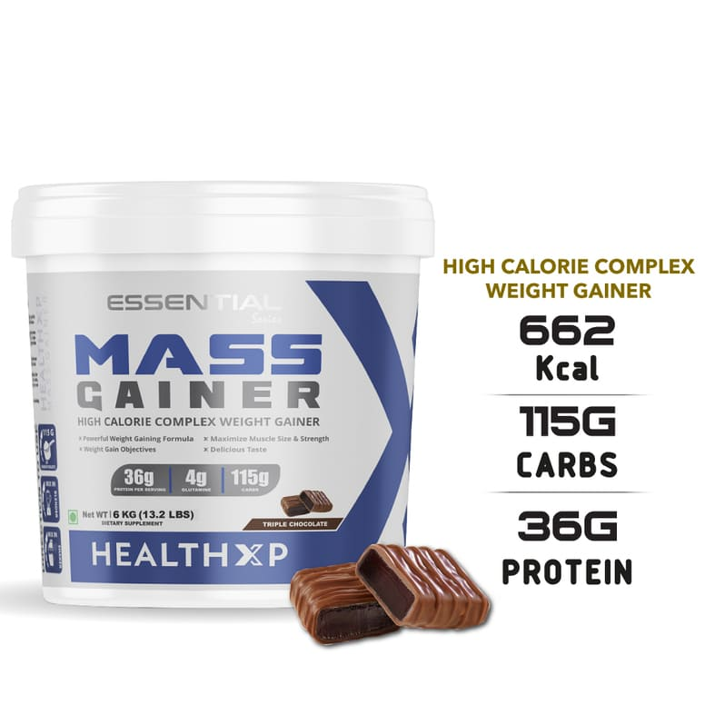 healthxp mass gainer 6k chocolate