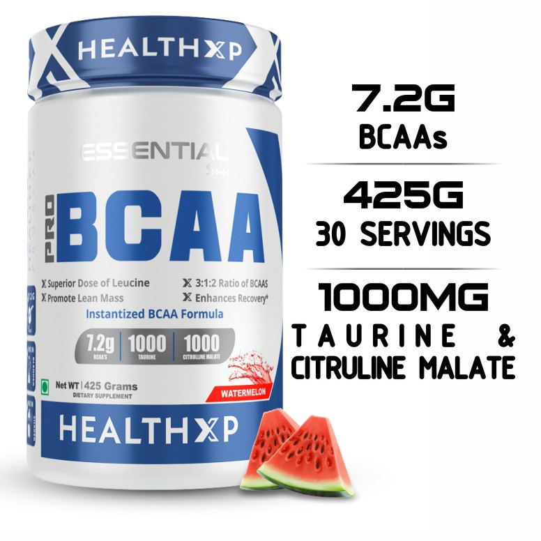 Buy HealthXP PRO BCAA 3:1:2 - 30 Serving