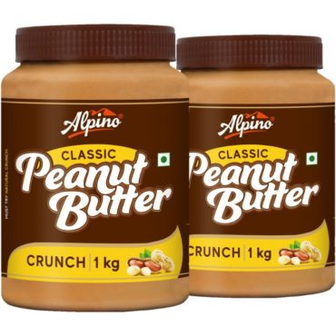Alpino Classic Peanut Butter 1KG (Pack Of 2)1