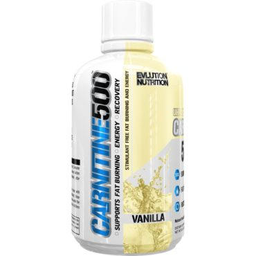 EVL-Carnitine-500-465ml-Vanilla