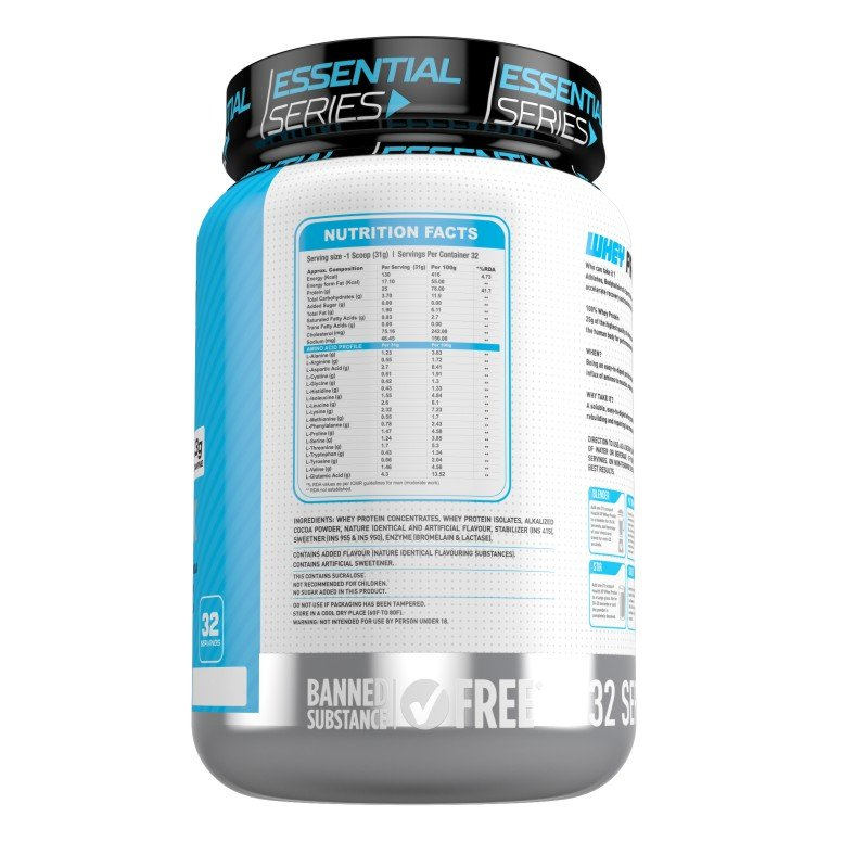 HealthXP 100% Whey Protein 2.5Kg (Combo)