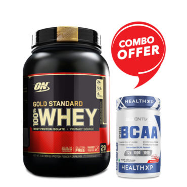 ON-Optimum-Nutrition-Gold-Standard-100-Whey-Protein-2lbs-HealthXP-PRO-BCAA-312-–-30-Servings-Combo