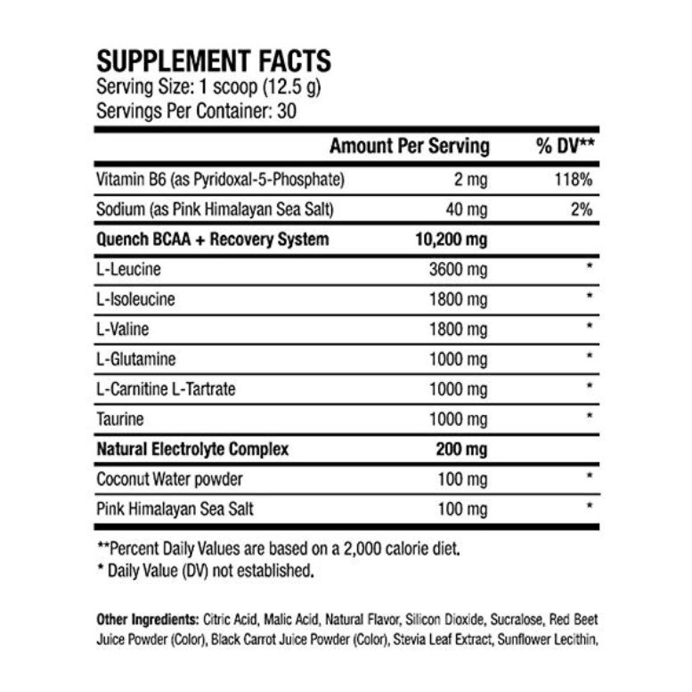 ANS-Quench-Bcaa-30-servings-Supplement-facts