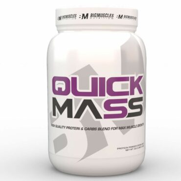 Big Muscles Quick Mass 2.2 lb
