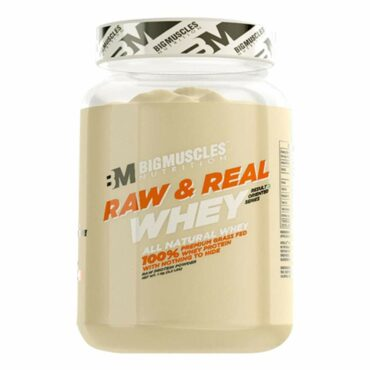 Big Muscles Raw & Real Whey 2.2 lbs (Unflavoured)