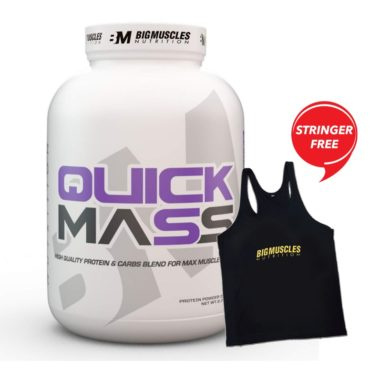 Big Muscles Quick Mass, 6 lb