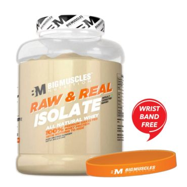 Raw-Real-Isolate-Whey-Protein-2lbs-Wrist-Band