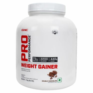 GNC Pro performance Weight gainer (Double Chocolate) 6.6 lbs