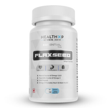 HealthXP-Essential-Series-FlaxSeed-100-Softgel-Caps