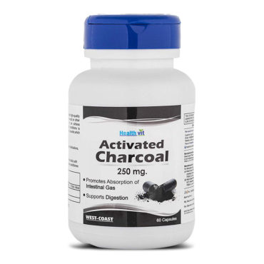 Healthvit-Activated-Charcoal-250mg-60-capsules