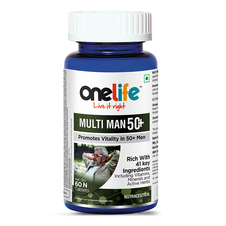 Onelife Multi Man 50+ ( 60 Tablets )