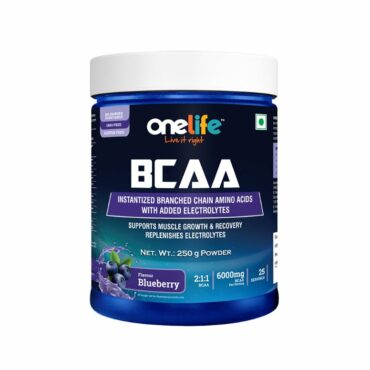 Onelife BCAA 250gm- Blueberry