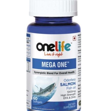 Onelife-Mega-One-Salmon-Fish-Oil-1000mg-60Softgels-1