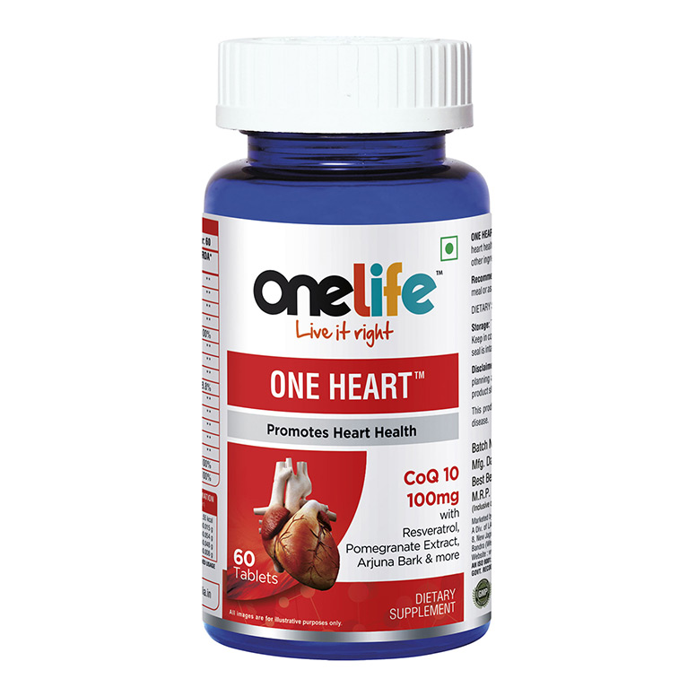 Onelife One heart COQ 10 ( 100MG ) 60Tab
