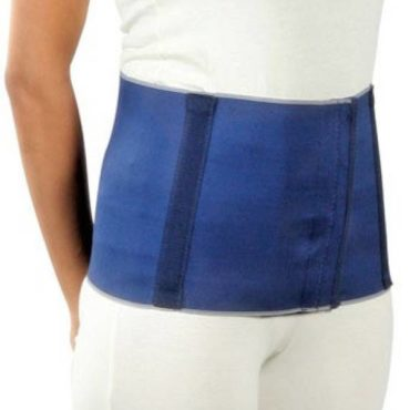 Medtrix Abdominal Belt Waist Support Back Premium Blue