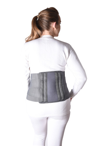 Medtrix Contoured Lumbar Sacral (L.S.) Back Support Grey