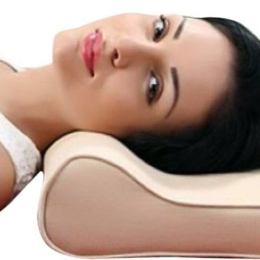 Medtrix Cervical Spondylosis Neck & Back Pain Support Pillow Premium Beige