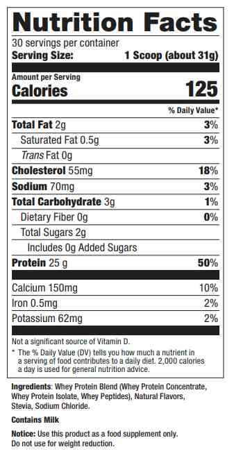 Ultimate-Nutrition-Clean-Whey-2lb-supp-facts