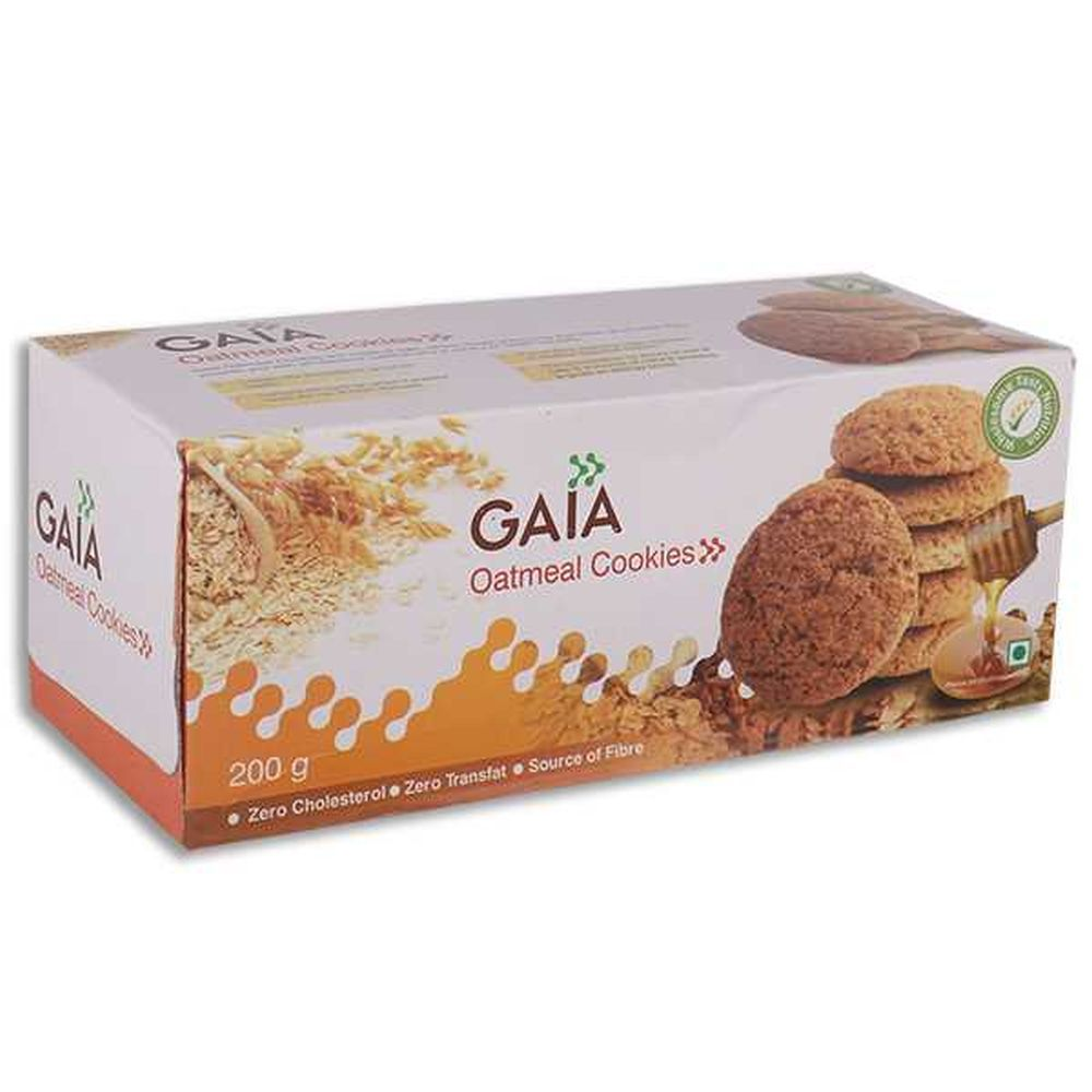 Buy Gaia Oatmeal Cookies 200gm