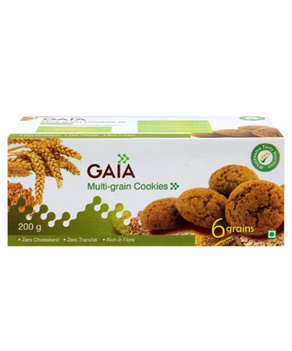 Gaia Multi-Grain Cookies 200gm