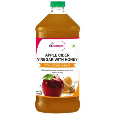 StBotanica Apple Cider Vinegar With Honey - 500ml