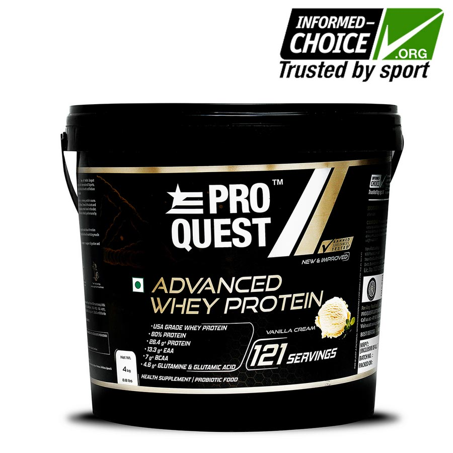 Proquest Advanced Whey Protein – 4Kg