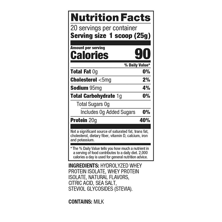 Dymatize-ISO-100-Hydrolized-Clean-1Lb-supp-facts