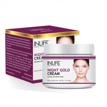 Inlife Night Gold Face Cream