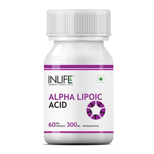 Inlife Alpha Lopic Acid 300Mg ( 60 Capsules )