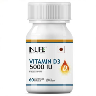Inlife-Vitamin-D3-Cholecalciferol-Supplement-5000-60 caps