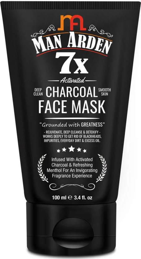 Man-Arden-7X-Activated-Charcoal-Face-Mask-100ml-1