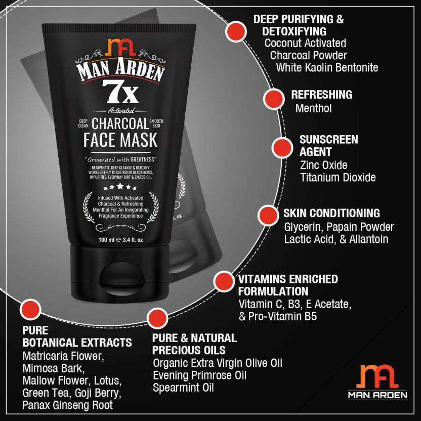 Man-Arden-7X-Activated-Charcoal-Face-Mask-100ml-5
