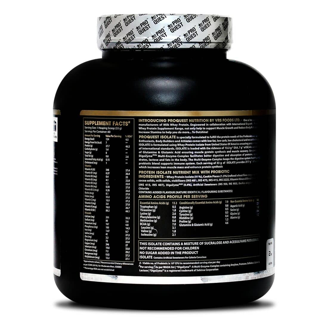 Proquest-Isolate-2KG-back