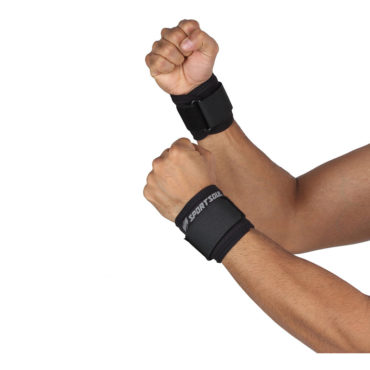 SportSoul-Wrist-Support-Pack-of-2-Free-Size-Black-1