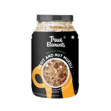 True Elements Fruit And Nut Muesli 1000gm@