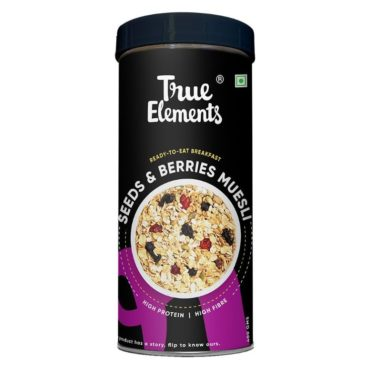 True Elements Seeds And Berries Muesli 400gm