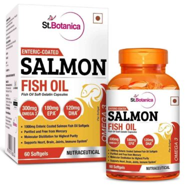 St.Botanica Salmon Fish Oil Omega 3 - 60 Softgels