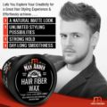 Man Arden Hair Fiber Wax Strong Hold with Matte Finish 50gm